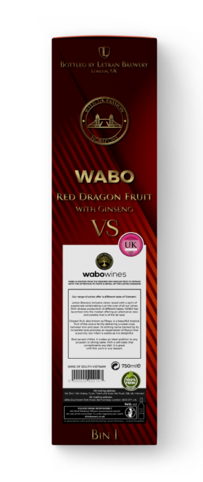 WABO 'Horizons' Red Dragon Fruit with Ginseng